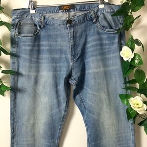 Johnny Bigg Mens Blue Jeans Size 40 Blue Straight
